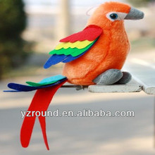 Orange lucky bird parrot gift toy