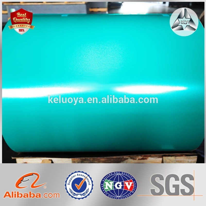 Pre painted ppgi colour coated galvanized corrugated metal roofing sheet in coil