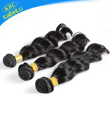 Pure human Peruvian hair overnight shipping loose wave guangzhou hair all grade 4a soft and smooth hair extension in stocks