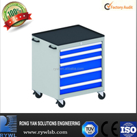 Iron Heavy Duty Trolley With Drawer