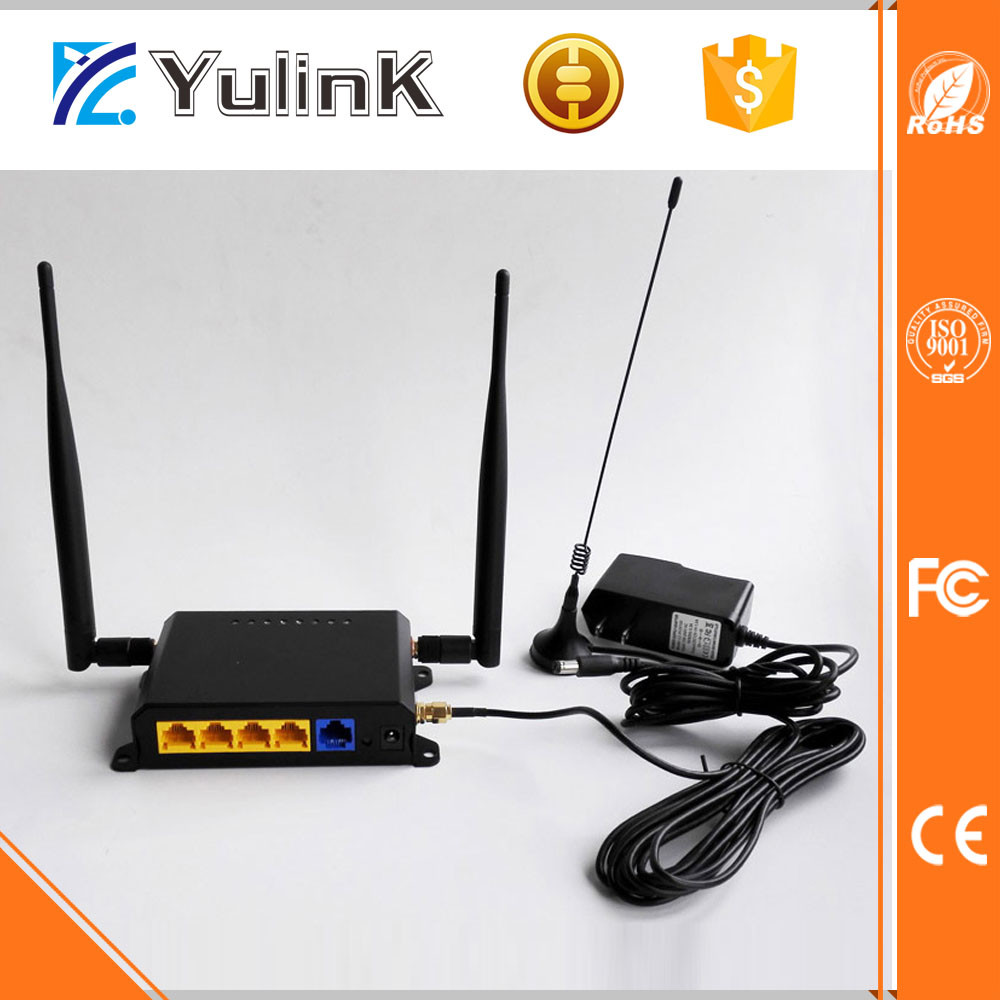 Bus wifi router adsl Micro SIM Card Slot 3G Router with External Antenna
