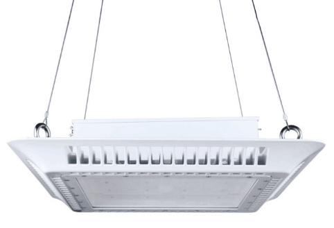 Shenzhenled module 200w floodlight project led gas canopy station light