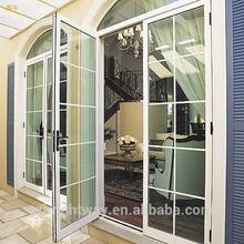 2015 New designed floor guided sliding doors made in China