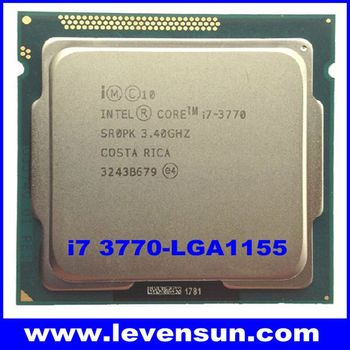Desktop intel core cpu processor i7 3770 3.4GHz 8M quad core i7 cpu LGA1155