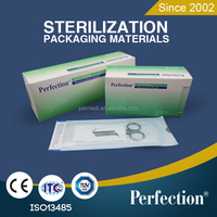 Medical sterilization self sealing dental pouch