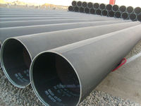 ASTM A252 GR 2 Piling Pipe, PE Coating Steel Pipes/Lowest Price/water storag tank