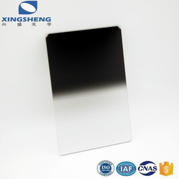 Tempered Glass filter Hard GND Graduated Neutral Density Filter for camera lens