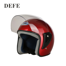 High quality half face red motorcycle helmets