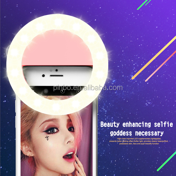 Wholesale Popular Fashion Smartphone 36 LED Ring Selfie Flash Light