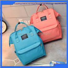 2016 Big Size Girls Fashion School Backpack Japan Design Nylon Leisure Backpack Factory Sale