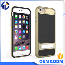 amazing price 2 in 1 mobile custom kickstand case for iphone 6 7 cover phone case for iphone7