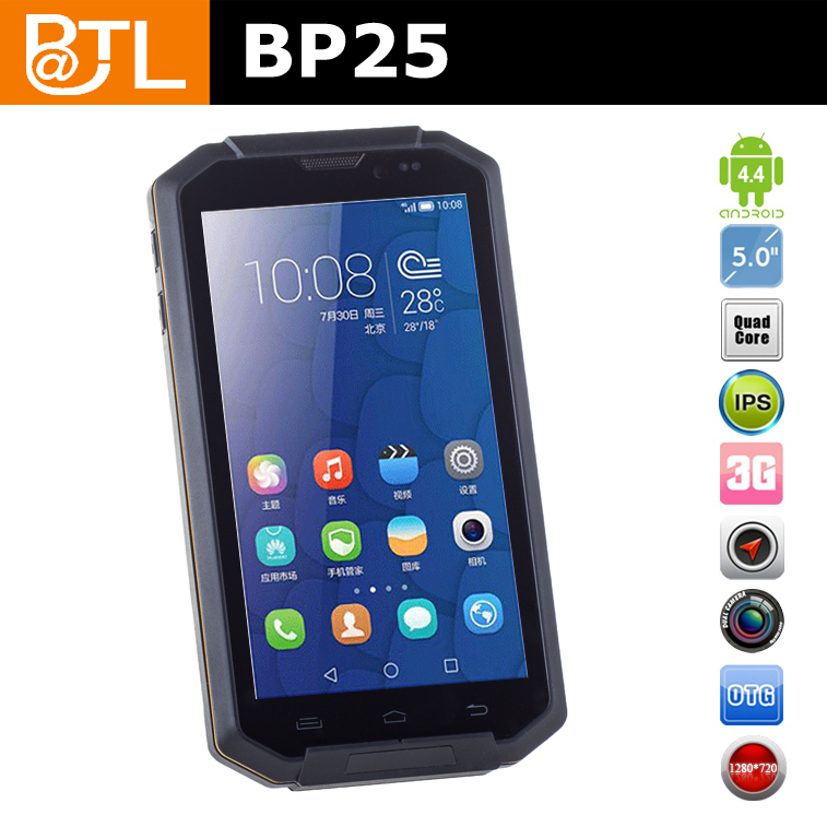 RFA427 BATL BP25 Sunlight Readable mining waterproof handphone,android phone for apps management