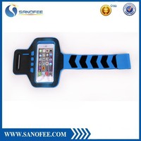 Top quality hot selling armband cell phone case,reflective armband for iphone 6,band arm