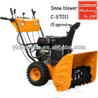 Snow sweeper blower/snow blowing machine