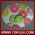 Kitchen Cutting / Chopping Board, Sublimation coated glass cutting board