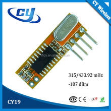CY19 Small Size 433mHz RF Receiver Module