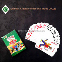 Wholesale Cheap customized playing cards poker with low price
