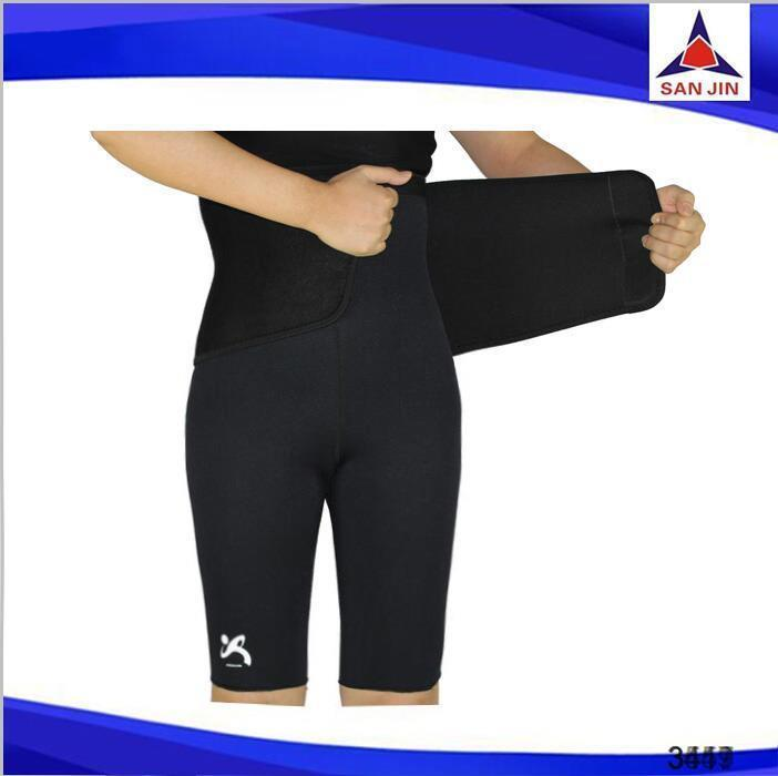 Cut weight sauna gear womens gym pants neoprene slimming lady's exercise pants