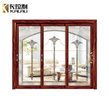 Competitive price villa glass restaurant modern alumimum entrance swing doors