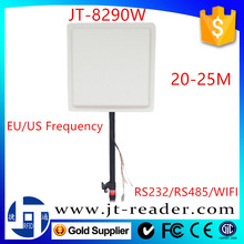 WIFI Long Range UHF RFID Tag Reader Automatic Open Gate System for Cars Parking Management