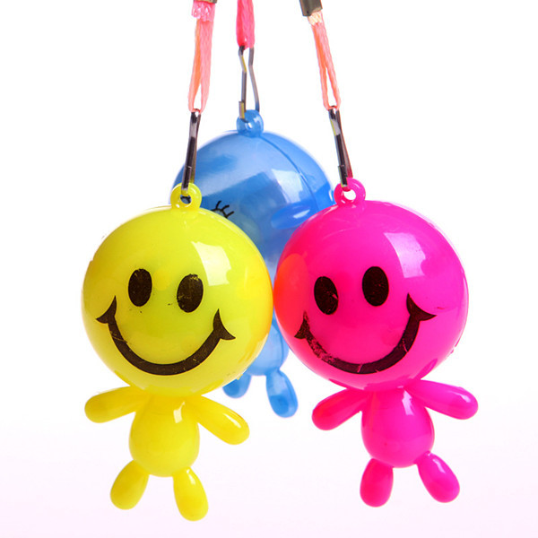 2015 New Design Led Flahing smiley villain toys/ Flash Necklace Toys/Children flashing toys