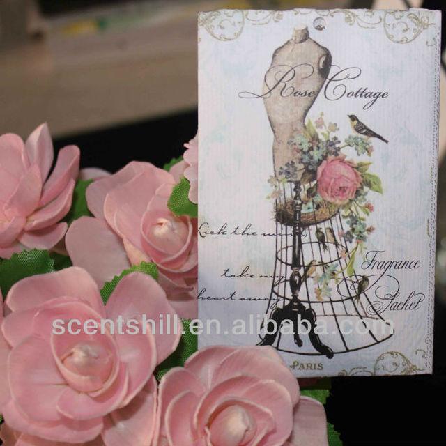 Cheap Paper envelope net 20grams air freshener scented perfume sachet