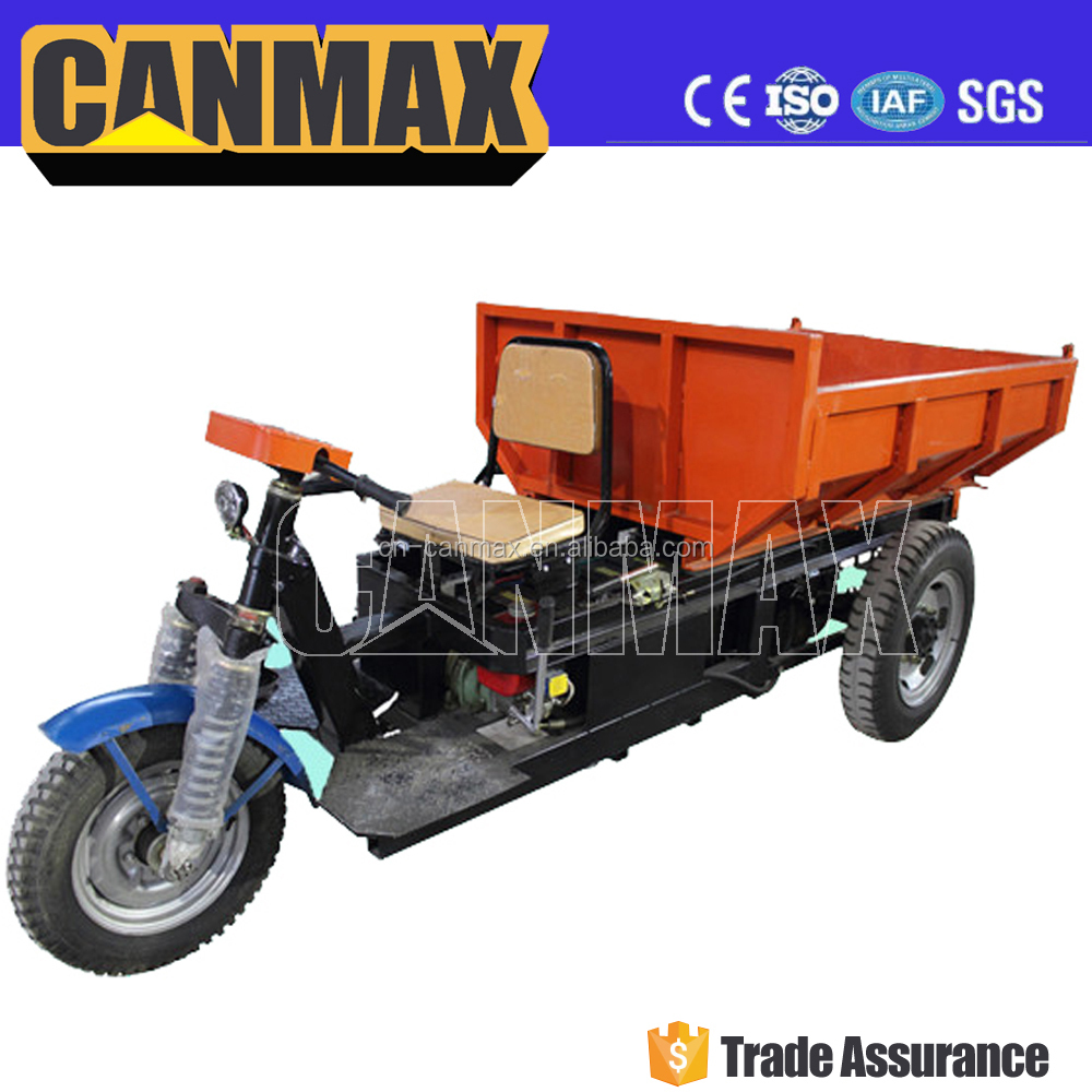 Popular battery cargo tricycle with hydraulic system/high quality three wheels tricycle for sale malaysia