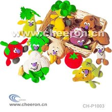 Plush Vegetables Toy, Colorful Stuffed Toy