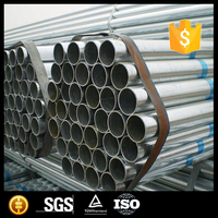gi pipe/galvanized steel pipe/galvanized hollow section water pipe price