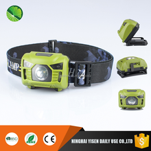 outdoor rechargeable led motion sensor headlamp