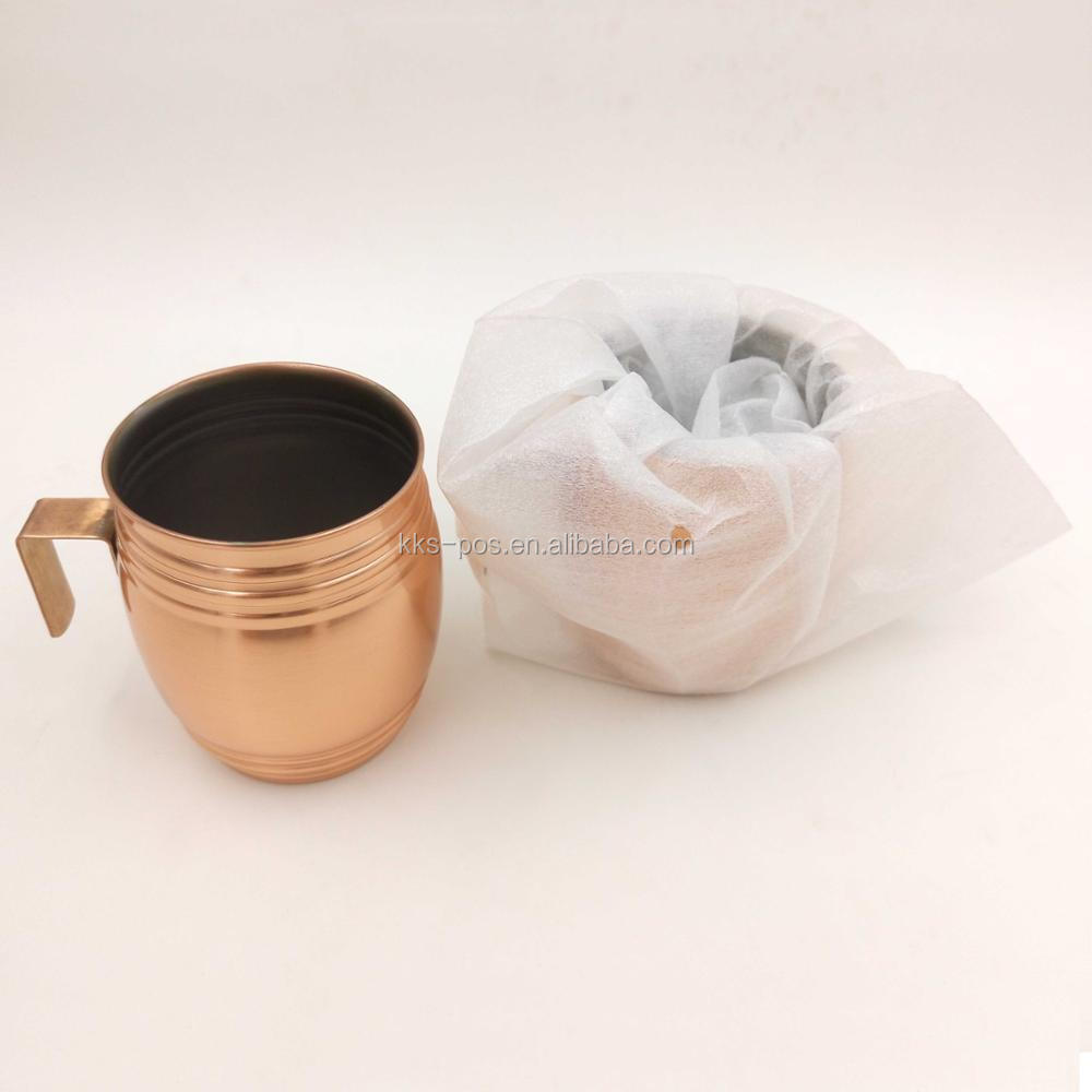 Stainless Steel Metal Barrel Shape Drinking Cup