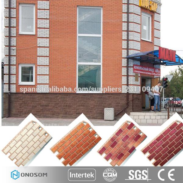 Onosom panel de piedra de imitaci n para la decoraci n de - Panel piedra exterior ...