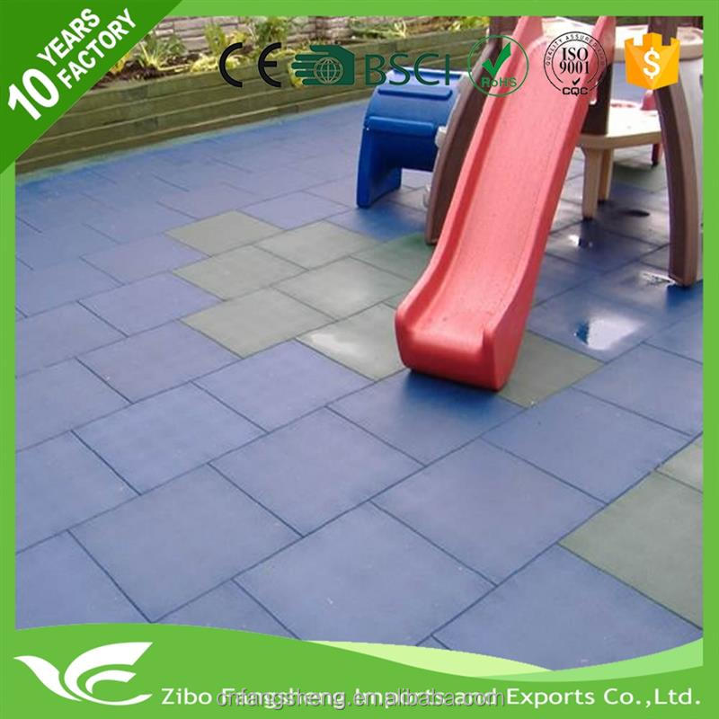 2016 playground rubber flooring red bricks for construction with CE certificate