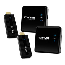 Nyrius ARIES Prime Digital Wireless HDMI Transmitter & Receiver System for HD 1080p 3D Video Streaming
