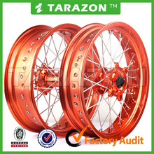 Pit Bike 17 Inch Full Set CNC Aluminum Wheels for KTM 450SX