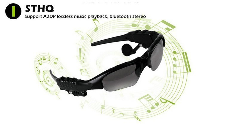 2017 new arrival wireless stereo sunglasses headphone for travel