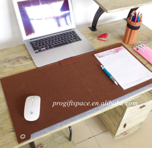 new china products for sale promotion desk pad polyester laptop mat large foldable felt mouse pad perfect for office and home