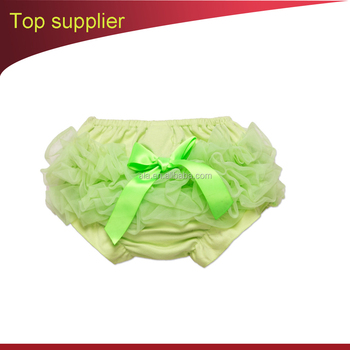 Girls Short Pants Lace Baby Cotton Ruffle Bloomers Cute Baby Diaper Cover Smash Cake Baby PP Panties Infant White Pants Dots Bow