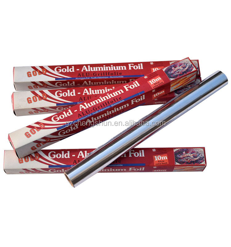 Aluminum foil for household, for BBQ, for chocolate wrapping, custom size thick thickness high quality kitchen aluminum foil