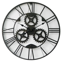 Antique European Style Antique Metal Old Style Wall Clocks