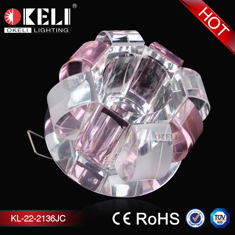 High quality multi color modern retractable led ceiling light fixtures