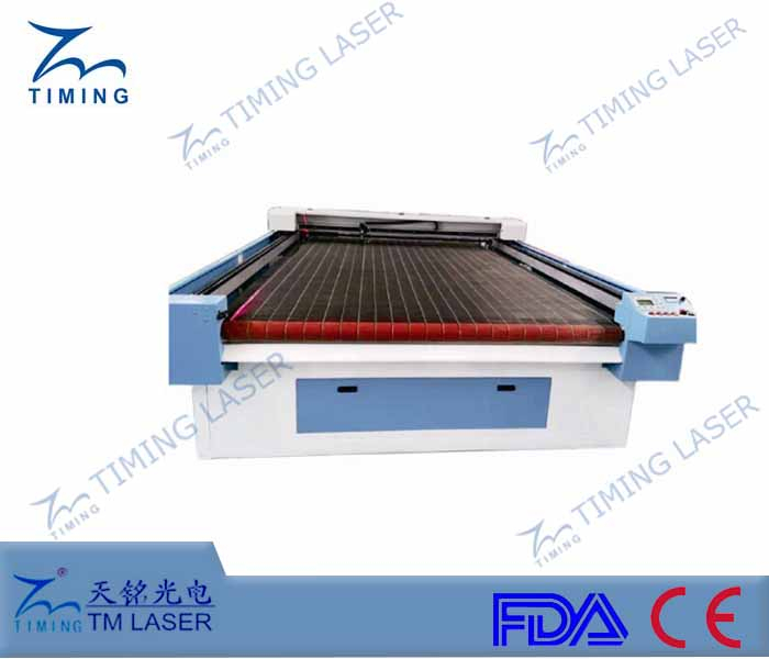 non-woven knitted fabric cutting machine (with auto feeder) cutting table for bag shoes making industries