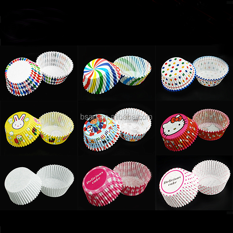 hot selling high quality colorful DIY paper cupcake for baking cup cake