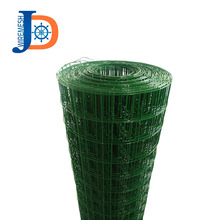 "BWG14/18 green color 5/8"" x 5/8"" pvc coated welded wire mesh"