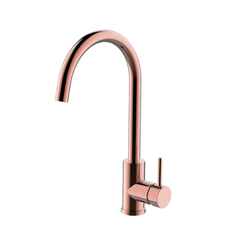 USA Rose gold plated antique copper gold swan faucet kitchen sink faucet mixer tap