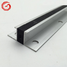Multifunctional rubber insert 6063 aluminium floor expansion joint covers
