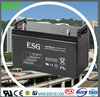 high capacity 12V120AH solar storage battery for solar power system