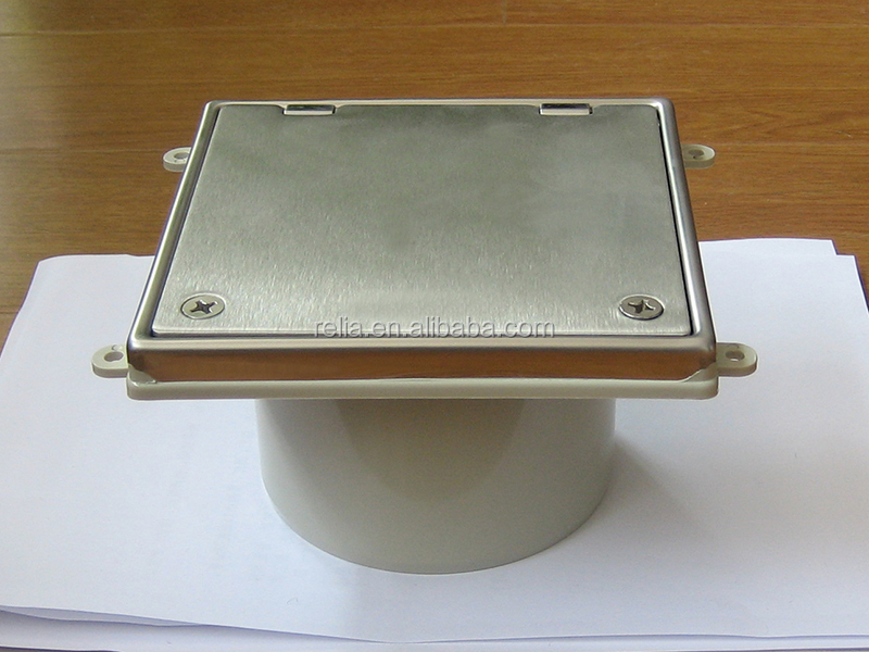 Stainless Steel 304 Bathroom Floor Drain With Cover