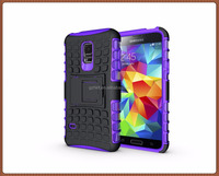 For Samsung For Galaxy S5 Mini G800 Case Hybrid TPU Hard Shockproof 2 In 1 With Stand Function Cover Cases