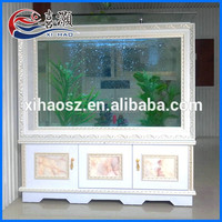 China Supplier 230L White Delicate Large Aquariums For Sale